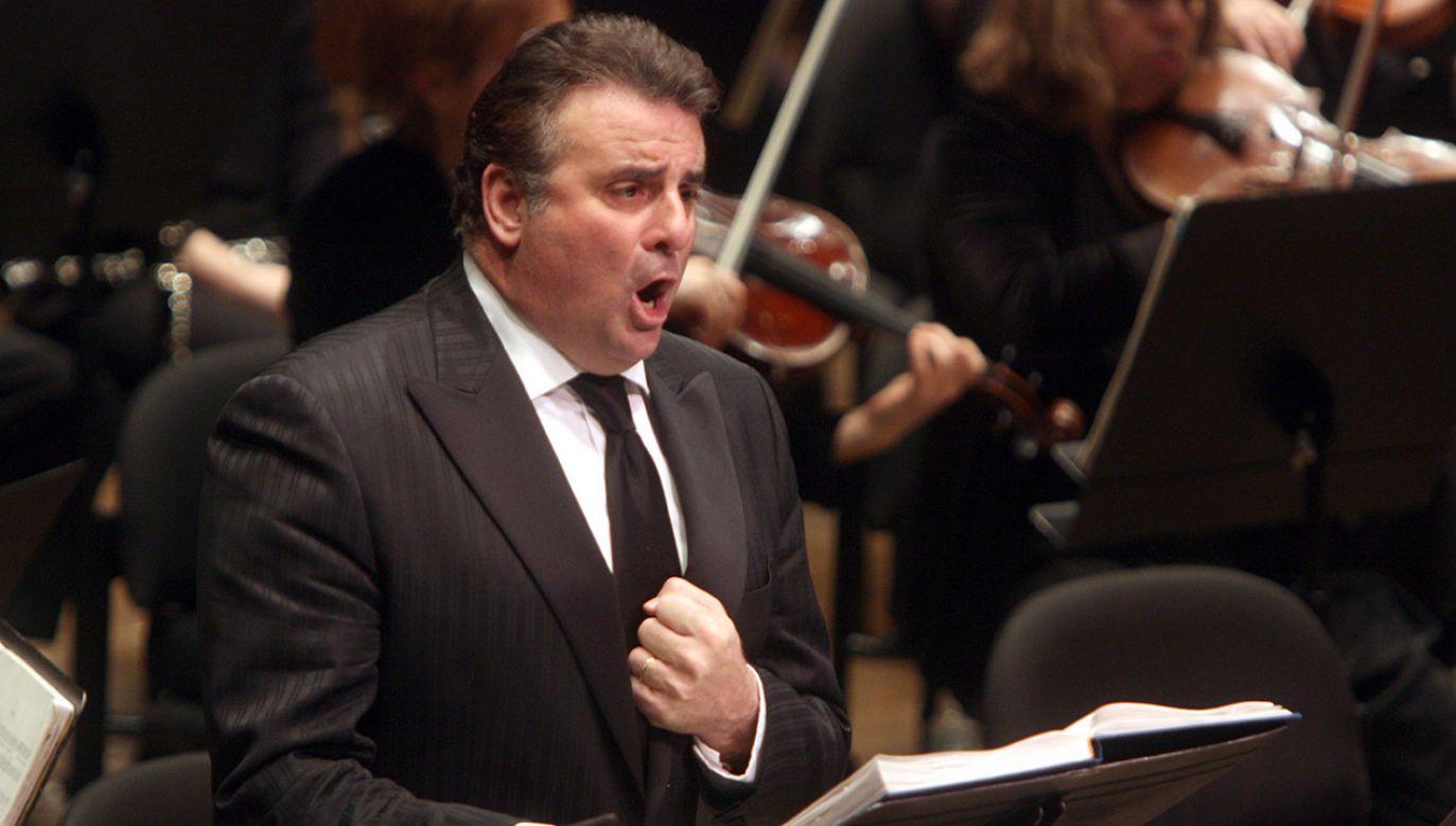 Marcello Giordani miał 56 lat (fot. Hiroyuki Ito/Getty Images)