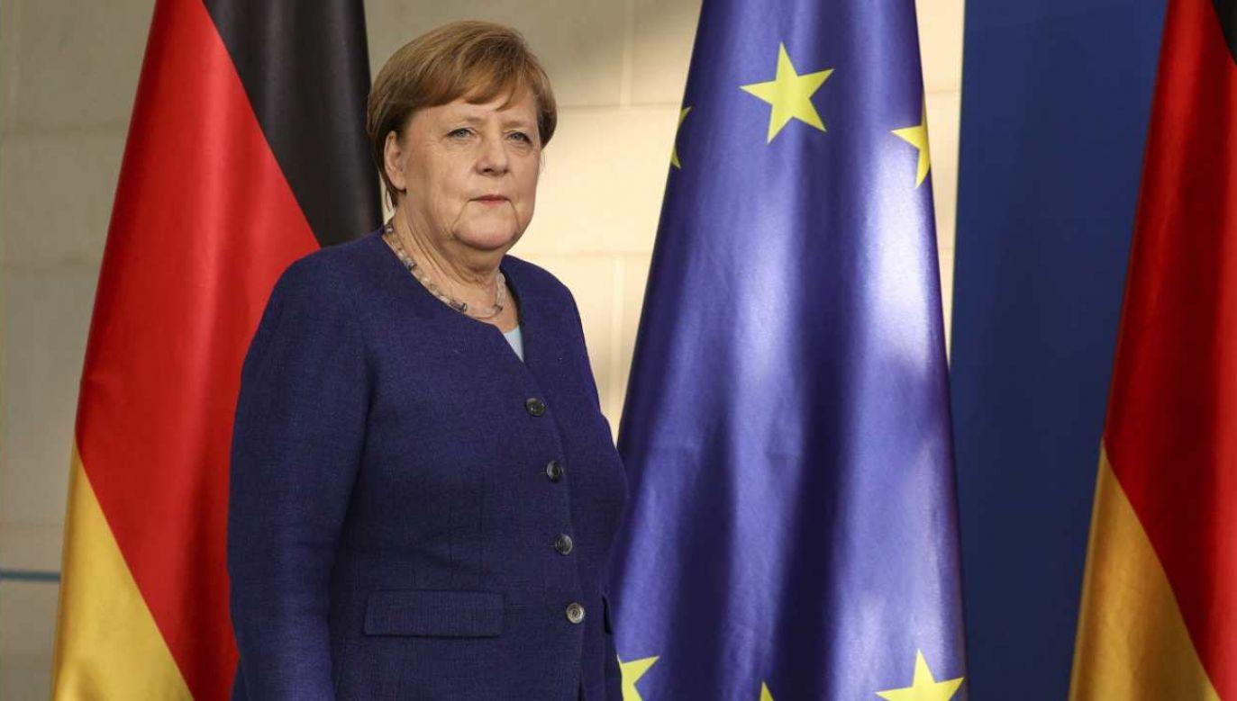 Kanclerz Niemiec Angela Merkel nie weźmie bezpośredniego udziału w szczycie G7  (fot.PAP/EPA/CLEMENS BILAN / POOL)
