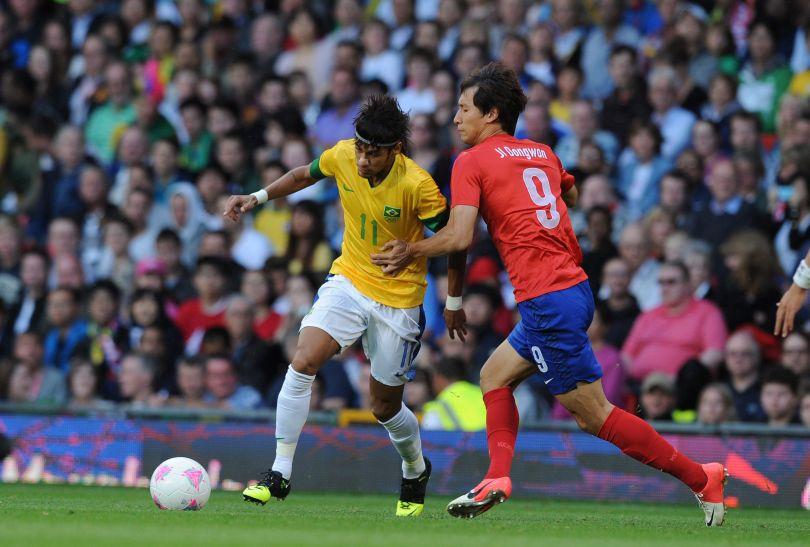 Neymar asystował kolegom przy bramkach (fot.PAP/EPA)