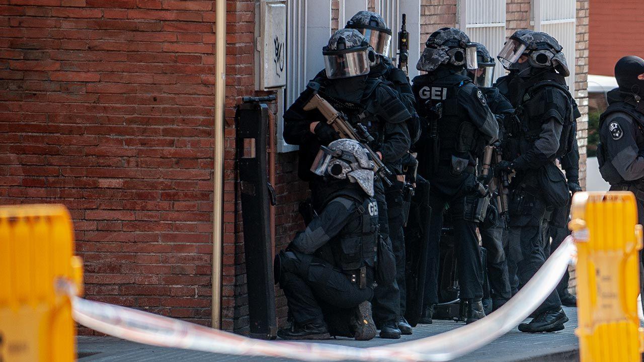 Zatrzymano 19 osób (fot. Robert Marquardt/Getty Images)