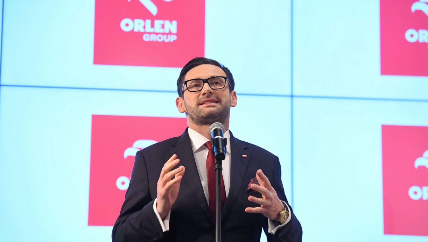 Prezes PKN Orlen Daniel Obajtek (fot. PAP/Piotr Nowak)
