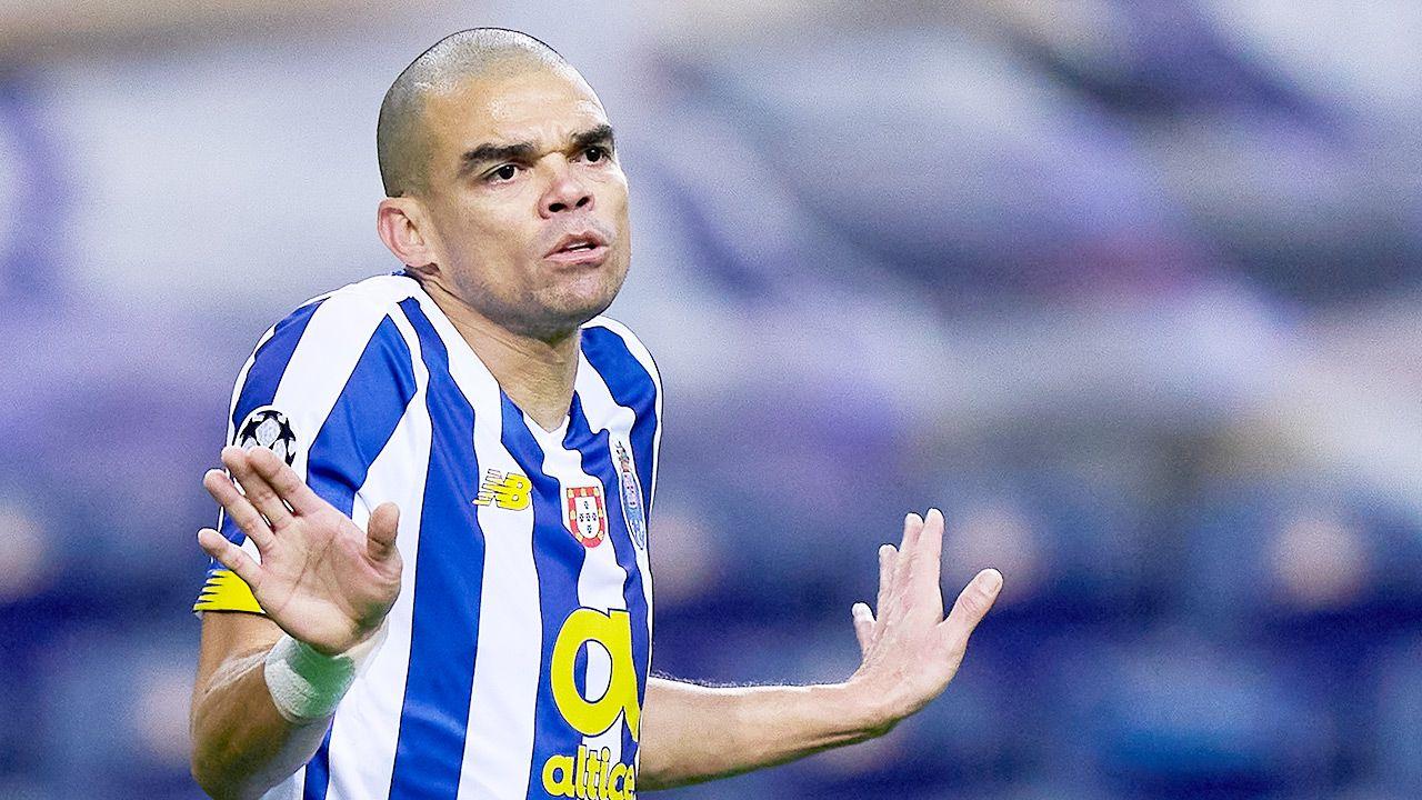 38-letni Pepe jest obecnie piłkarzem FC Porto (fot. Jose Manuel Alvarez/Quality Sport Images/Getty Images)