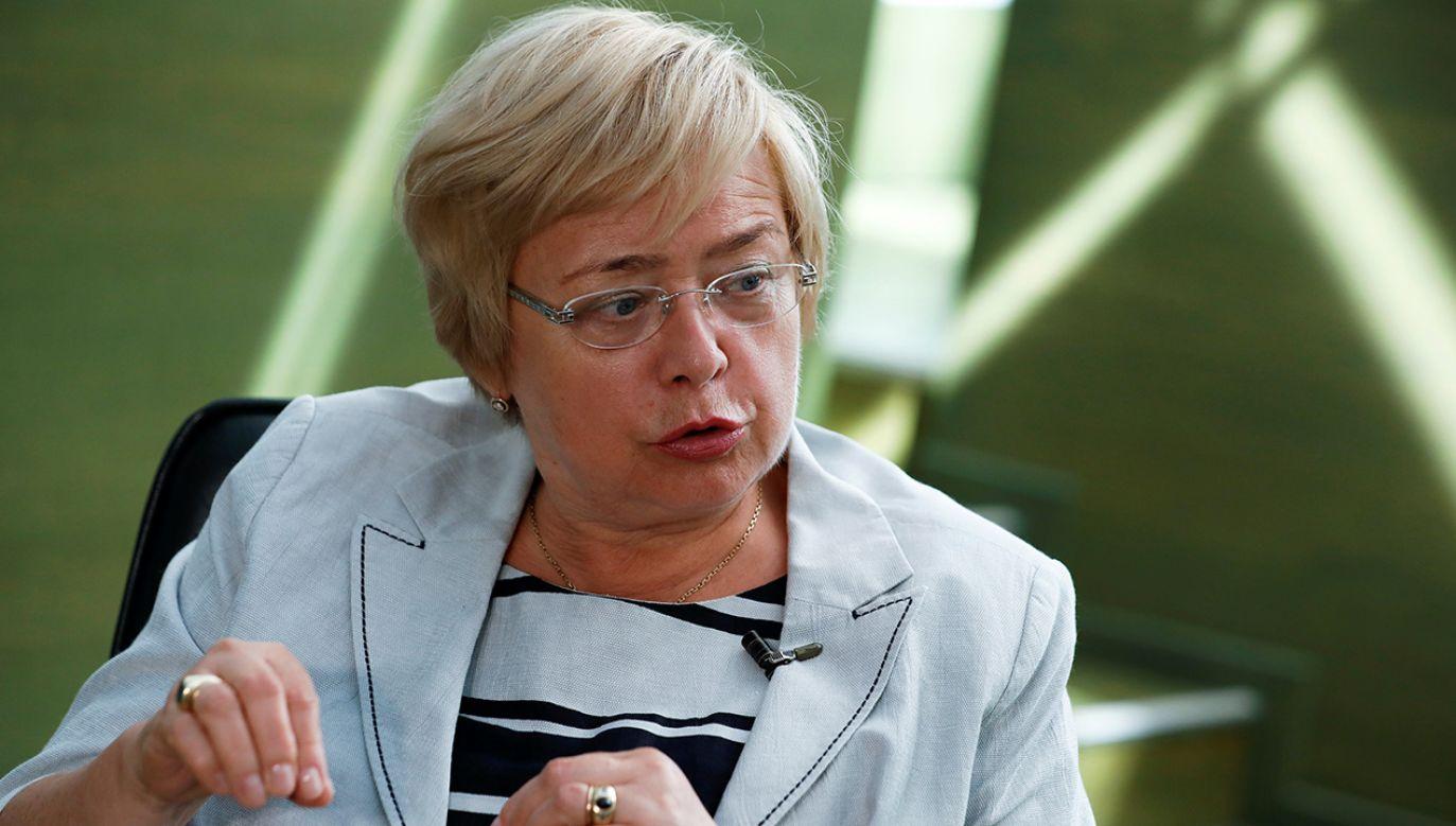 """Części Polaków """"miło jest patrzeć na stosy"""" – twierdziła Małgorzata Gersdorf (fot. REUTERS/Kacper Pempel)"""