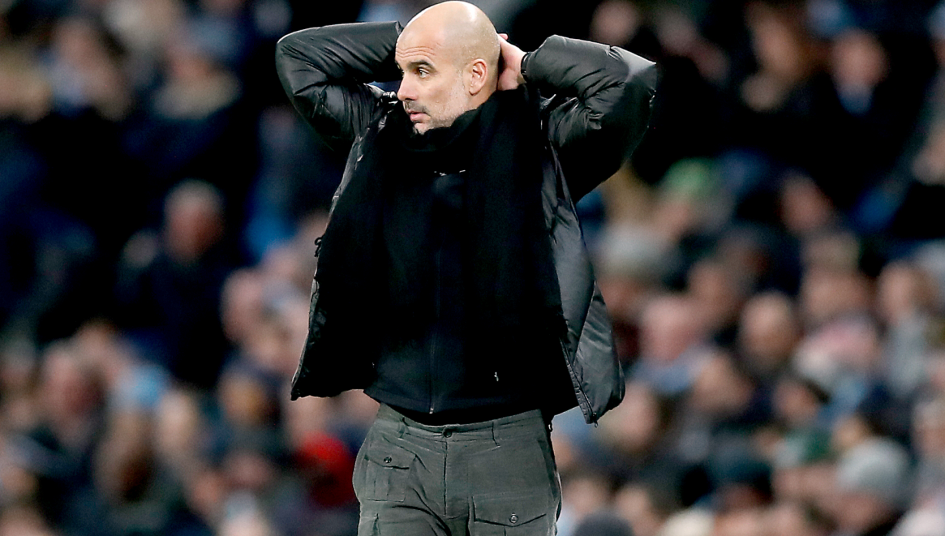 Pep Guardiola (fot. Getty Images)
