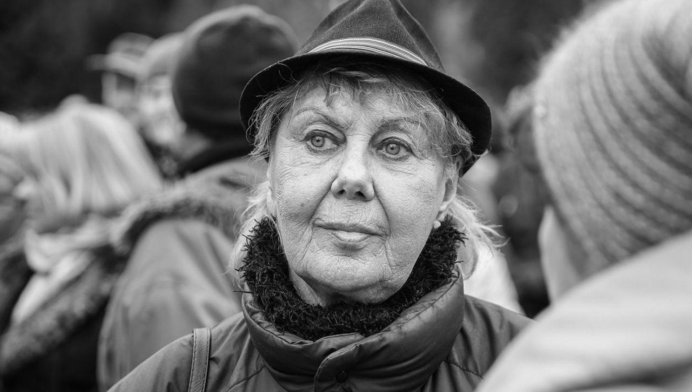 Krystyna Kołodziejczyk wystąpiła w wielu filmach i serialach (fot. PAP/Rafał Guz)