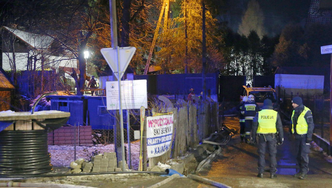 W Szczyrku zginęło osiem osób (fot. PAP/Andrzej Grygiel)