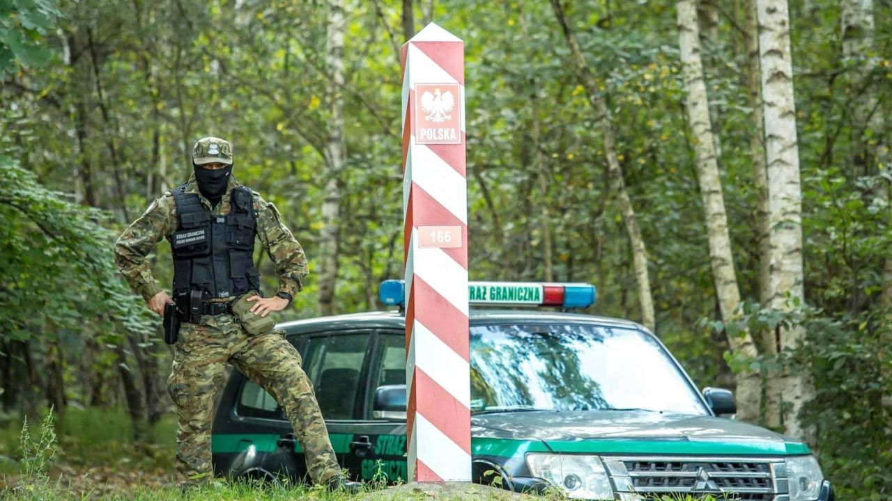 SG trzyma rękę na pulsie także na innych odcinkach granicy (fot. TT/Straż Graniczna)