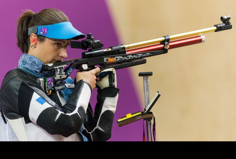 Polka wygrała eliminacje, co dodało jej pewności przed walką o medale (fot. PAP/EPA)