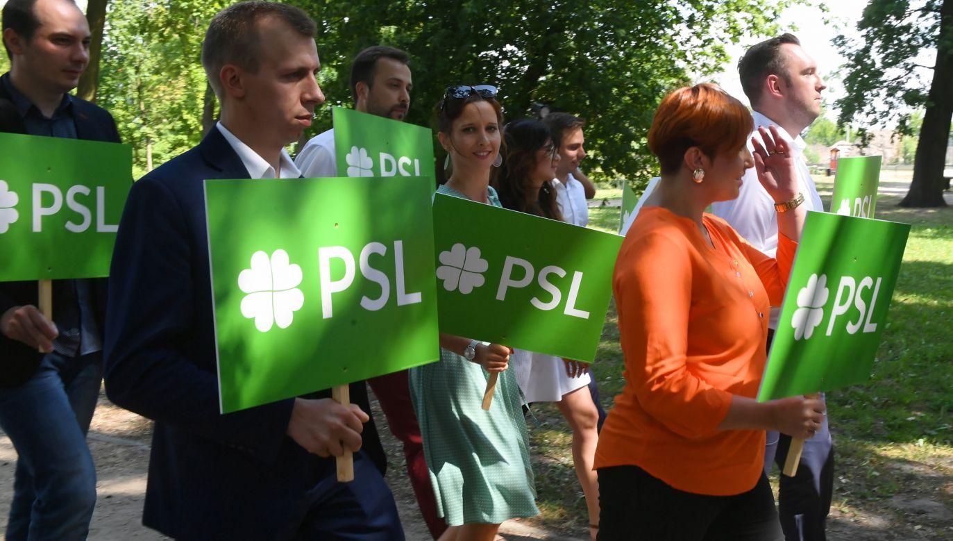 Na początku sierpnia lider PSL Władysław Kosiniak-Kamysz informował, że 17 sierpnia w Płocku odbędzie się krajowa konwencja wyborcza PSL (fot. arch, PAP/Grzegorz Michałowski)