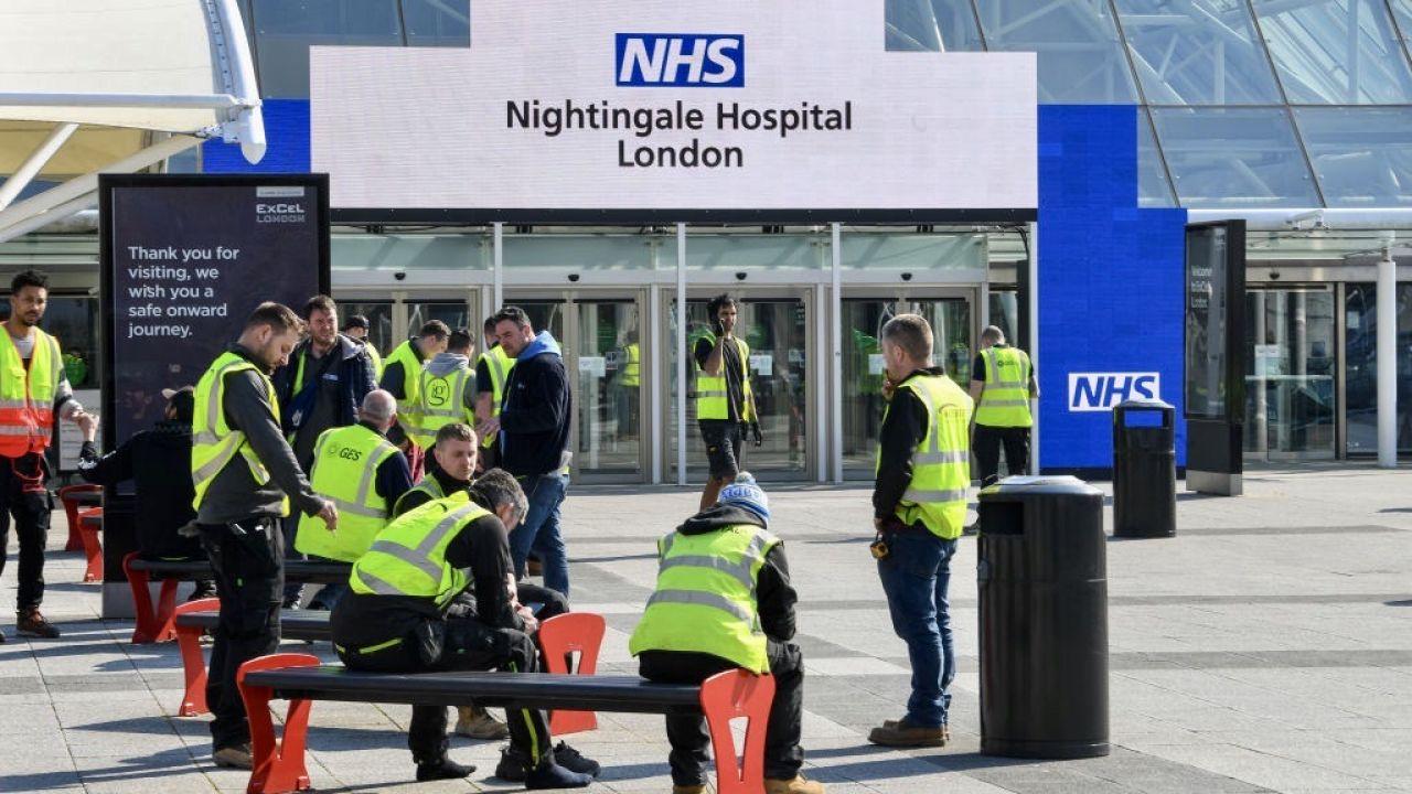 Szpital może objąć opieką cztery tysiące ludzi (fot. Stefan Rousseau/PA Images via Getty Images)