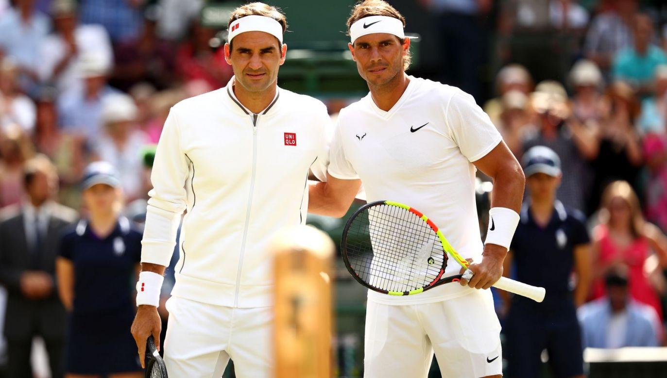 Roger Federer wygrał ranking po raz pierwszy w historii (fot. Getty)