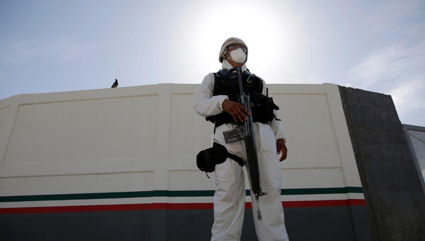 Meksyk jest obecnie piątym najbardziej dotkniętym pandemią krajem na świecie (fot. Jose Luis Gonzalez/Reuters)