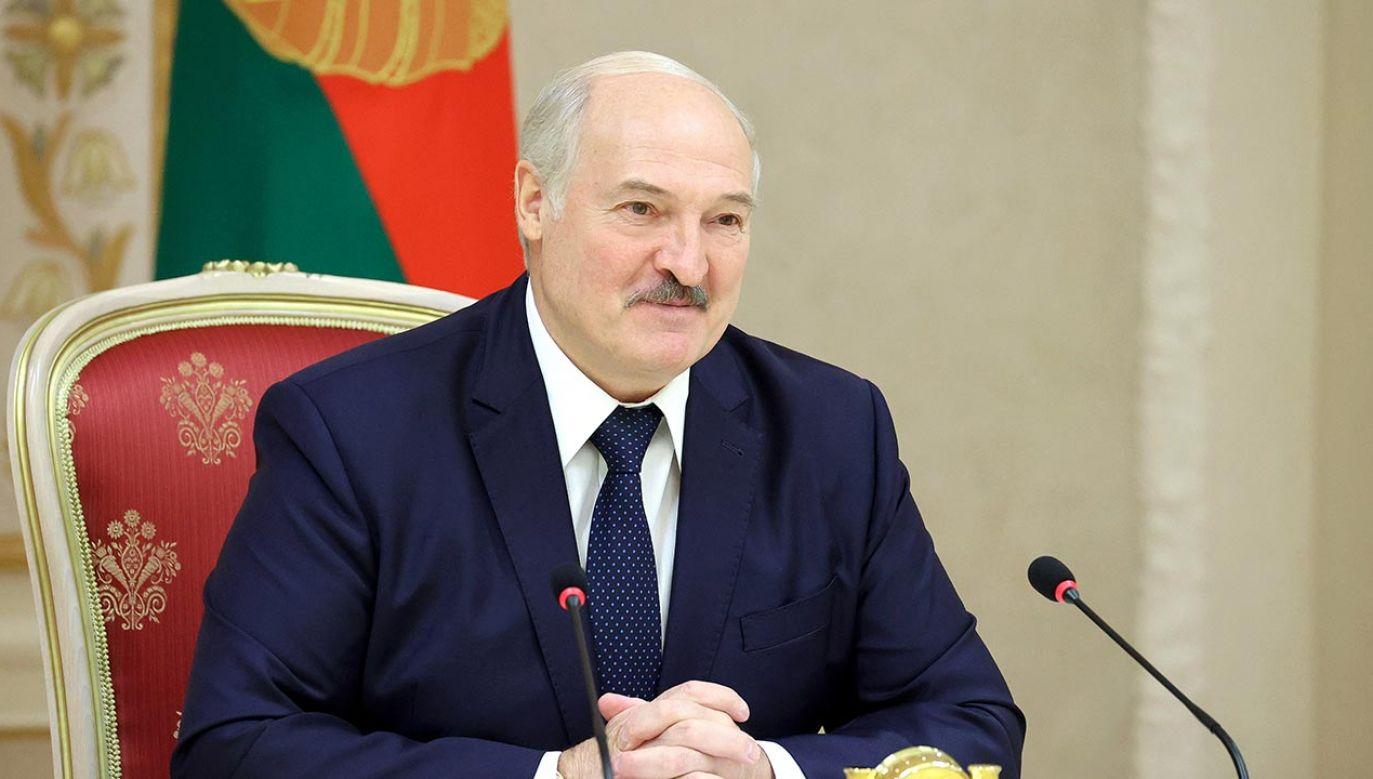 Państwa bałtyckie ogłosiły listy sankcyjne, na których znalazł się Alaksandr Łukaszenka (fot. Maxim Guchek\TASS via Getty Images)