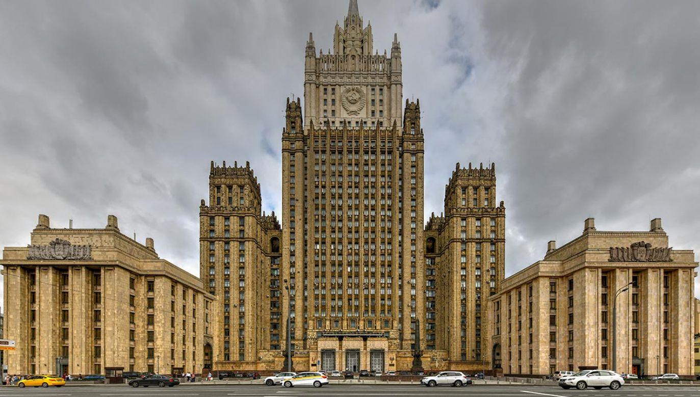 Ministerstwo Spraw Zagranicznych Federacji Rosyjskiej (fot. Shutterstock/Felix Lipov)