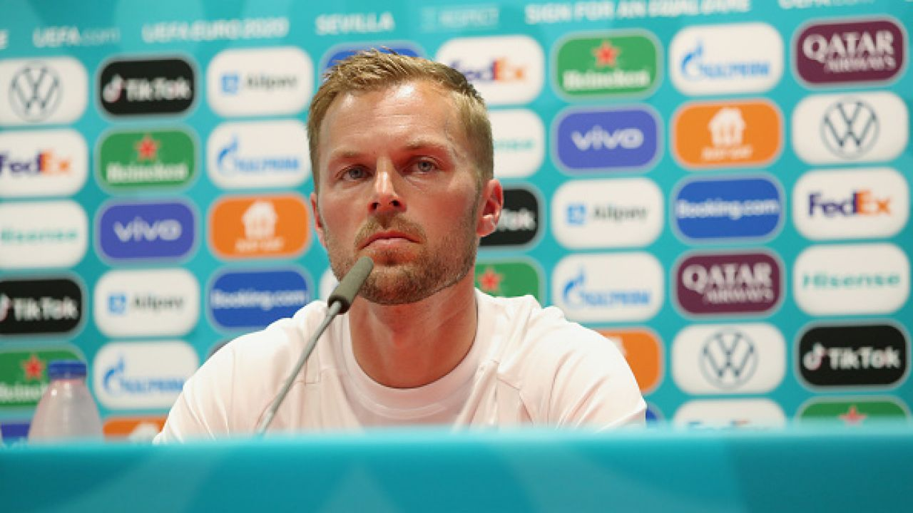 Kapitan reprezentacji Szwecji Sebastian Larsson (fot. Getty Images)
