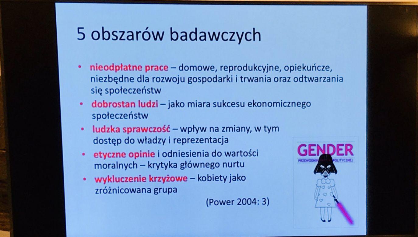 """O """"pracach reprodukcyjnych"""" rozmawiano na Kongresie Kobiet w Brukseli (fot. TT/SylwiaSpurek)"""