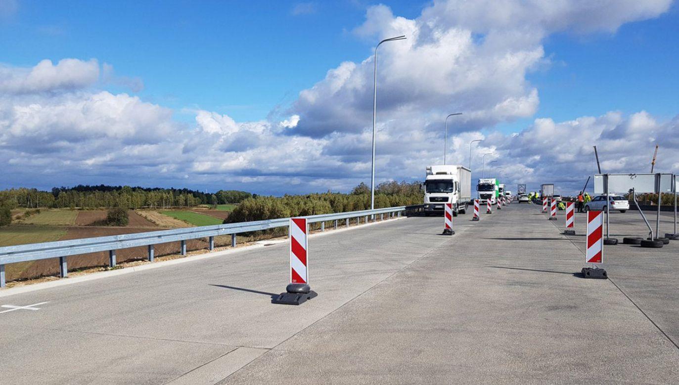9-kilometrowy odcinek ma być gotowy w październiku 2021 r. (fot. GDDKiA, zdjęcie ilustracyjne)