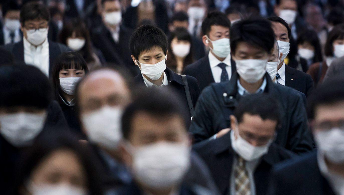 Łącznie w Japonii zakażonych jest 1307 osób (fot. Tomohiro Ohsumi/Getty Images)