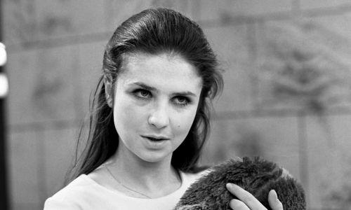 """Teatr Telewizji 1972 rok. """"Elektra"""", reż. Ludwik Rene. Na zdjęciu Stanisława Celińska. Fot. Zygmunt Januszewski TVP/EAST NEWS"""