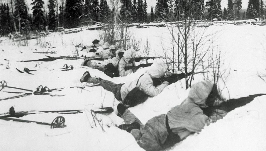 Finowie zadali Rosjanom ogromne straty podczas Wojny Zimowej (fot. Wiki)