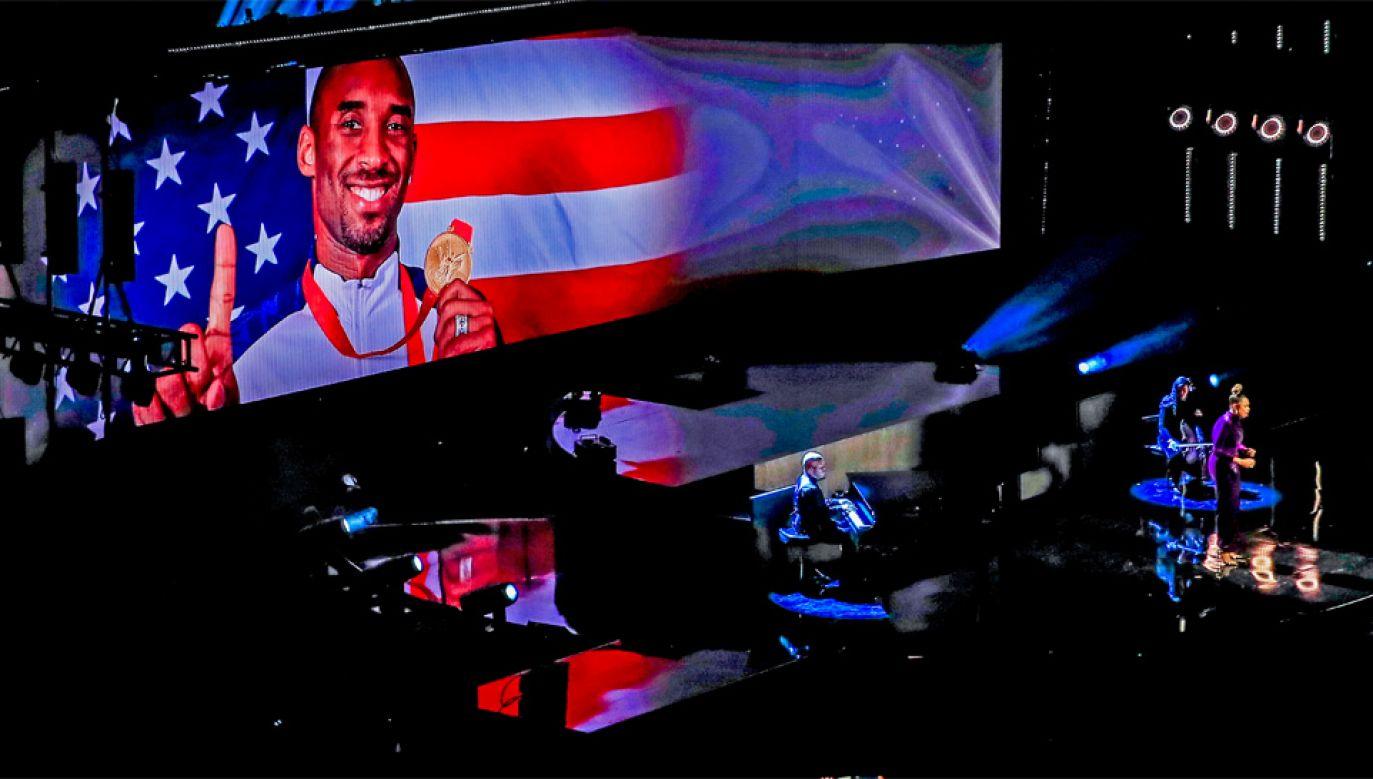 Legendarny koszykarz Kobe Bryant zginął w katastrofie (fot. PAP/EPA/NUCCIO DINUZZO)