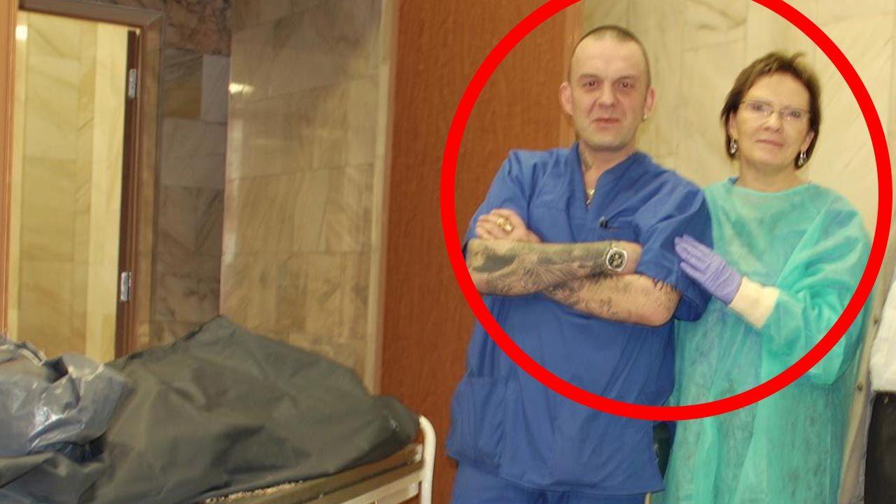 """O wytatuowanym """"rosyjskim techniku"""" mówiono już kilka lat temu (fot. TVP)"""