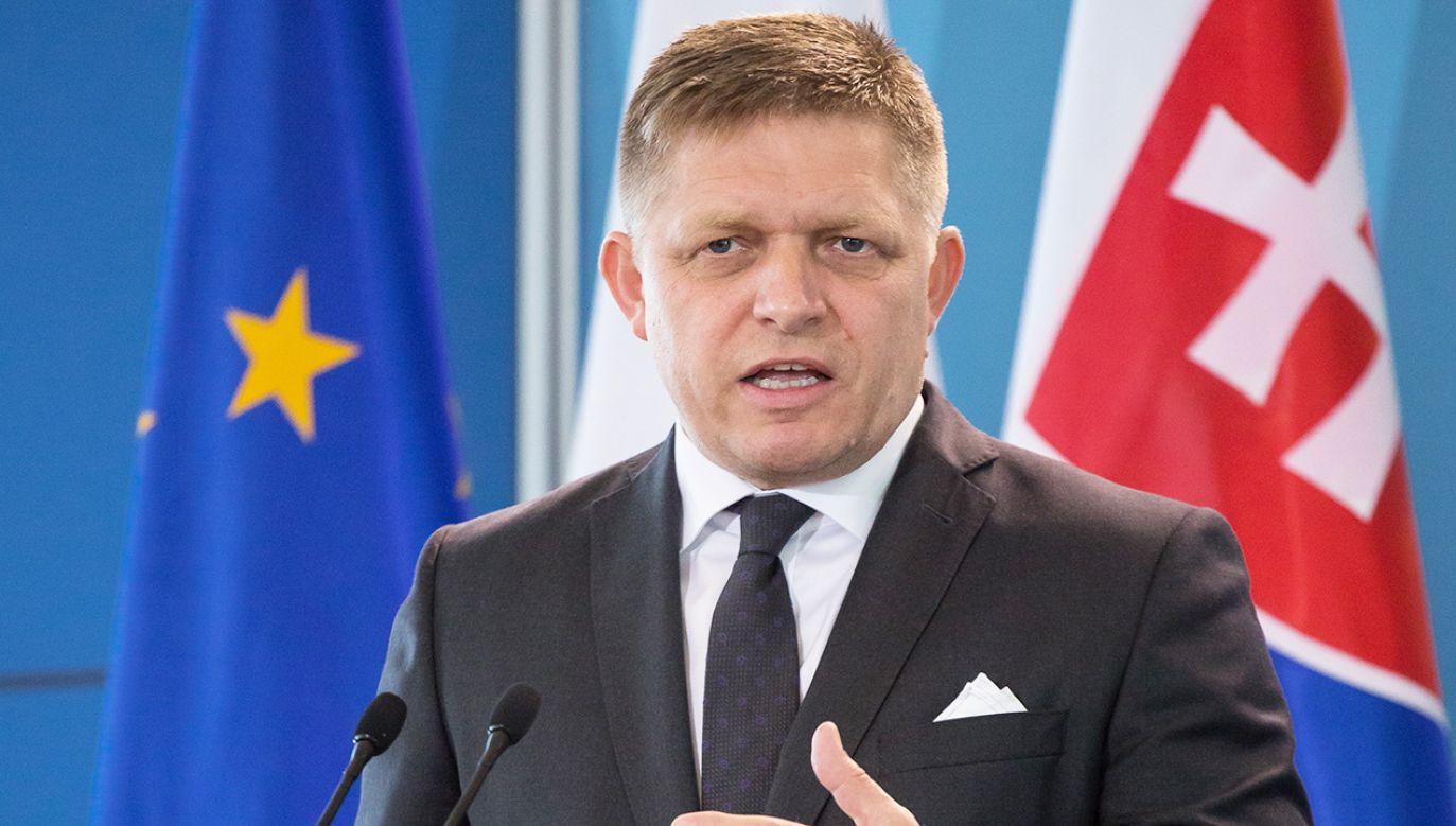 Lider partii opozycyjnej Robert Fico był podsłuchany przez słowacką prokuraturę (fot. Mateusz Wlodarczyk/NurPhoto/Getty Images)