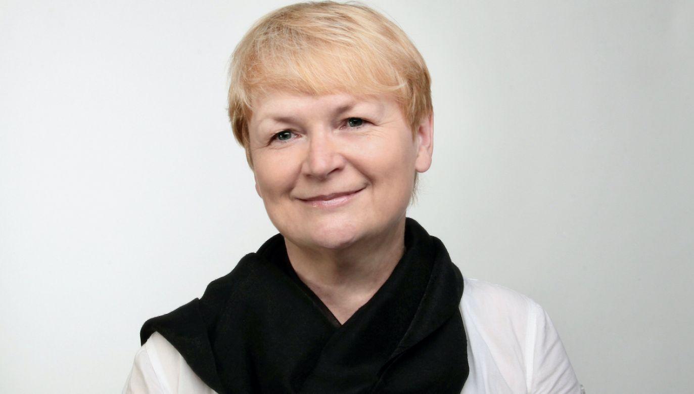 Barbara Gawryluk promuje szwedzką kulturę i literaturę (fot. Archiwum Radia Kraków)