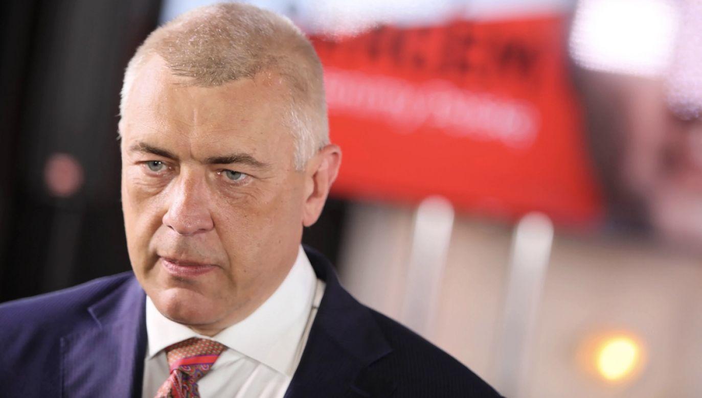 Obrońcy potwierdzili status Giertycha jako podejrzanego – wskazuje prokuratura (fot. arch.PAP/Leszek Szymański)