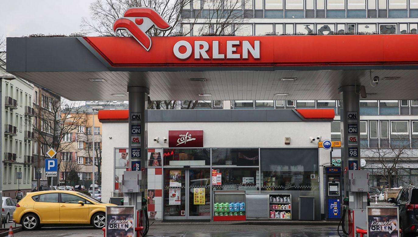 PKN Orlen posiada sieć ok. 2,8 tys. stacji paliw w Europie Środkowo-Wschodniej (fot. Getty Images/ NurPhoto/Contributor)