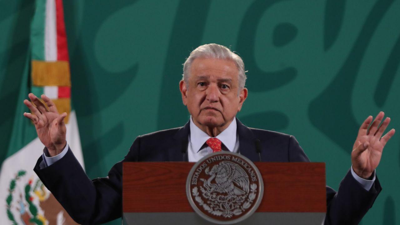 Prezydent Meksyku Andres Manuel Lopez Obrador (fot. PAP/EPA)