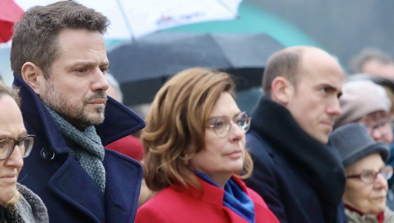 Rafał Trzaskowski nie prowadzi jeszcze kampanii wyborczej (fot. arch.PAP/Wojciech Olkuśnik)