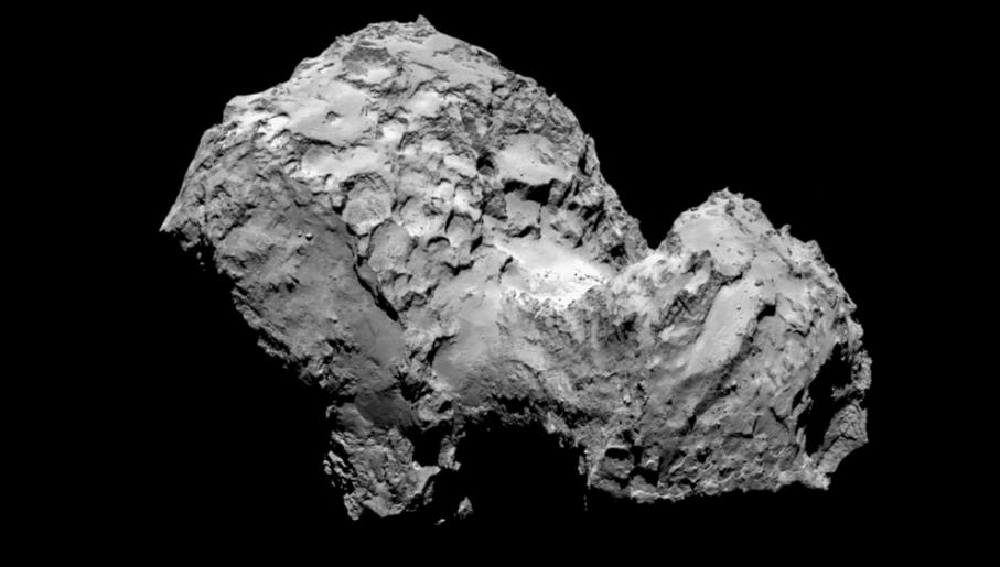 Kometa 67P/Czuriumow-Gierasimienko (fot. www.esa.int)