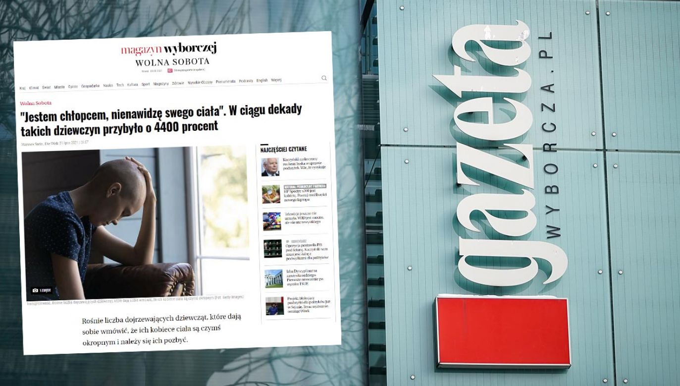 Artykuł w serwisie Wyborcza.pl wywołał furię – podobnie jak opisywana książka o transpłciowości (fot. Forum/Mateusz Wlodarczyk)