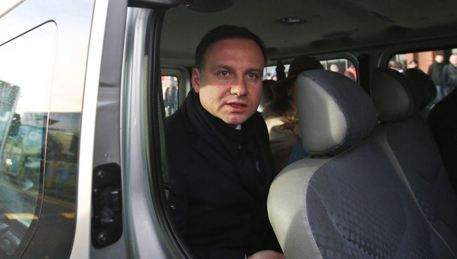 Andrzej Duda (fot. PAP/Rafał Guz)