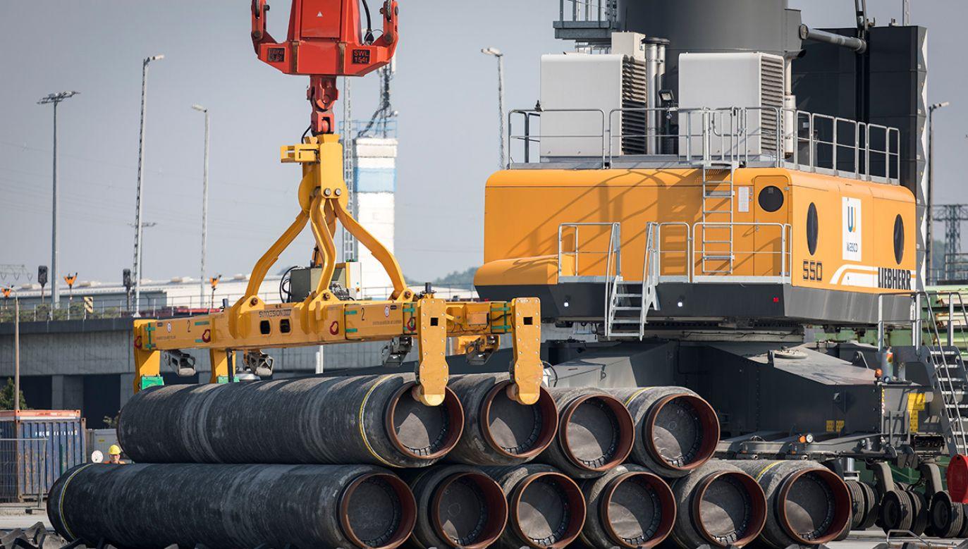 Kreml chce dzięki NS2 utrzymać swoją pozycję hegemona energetycznego w Europie (fot. Axel Schmidt/Getty Images)