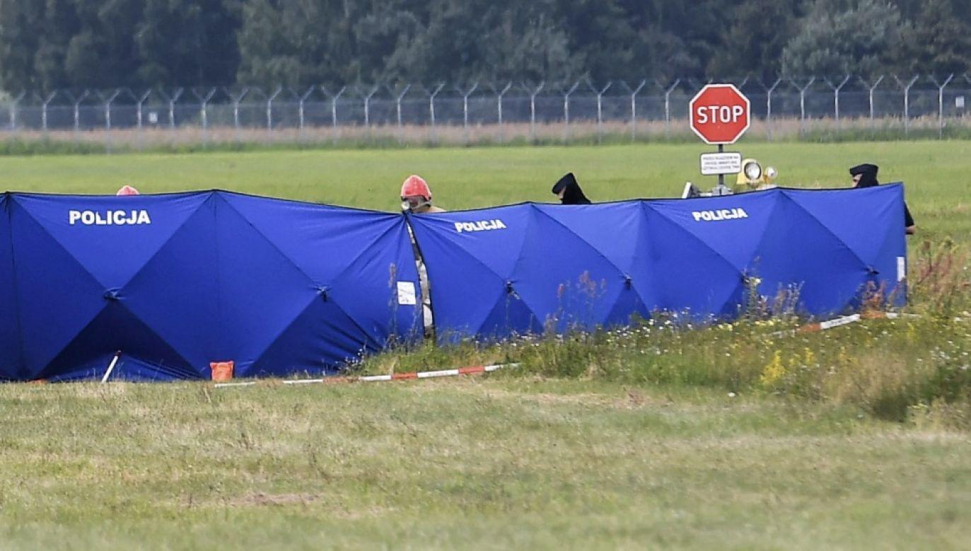Okoliczności tego zdarzenia są badane przez policję pod nadzorem prokuratury (fot. PAP/Paweł Skraba, zdjęcie ilustracyjne)