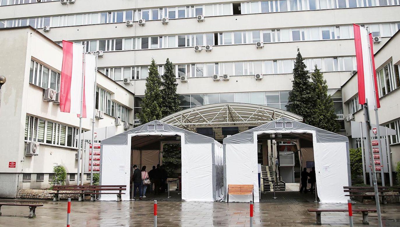 Sędziowie protestowali przeciwko zawieszeniu sędziego Ferka (fot. PAP/Łukasz Gągulski)