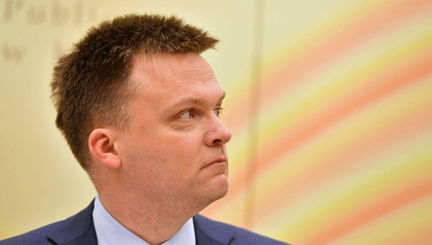 """Kandydat na prezydenta uważa Polskę za """"Frankensteina Europy"""" (fot. PAP/Piotr Polak)"""