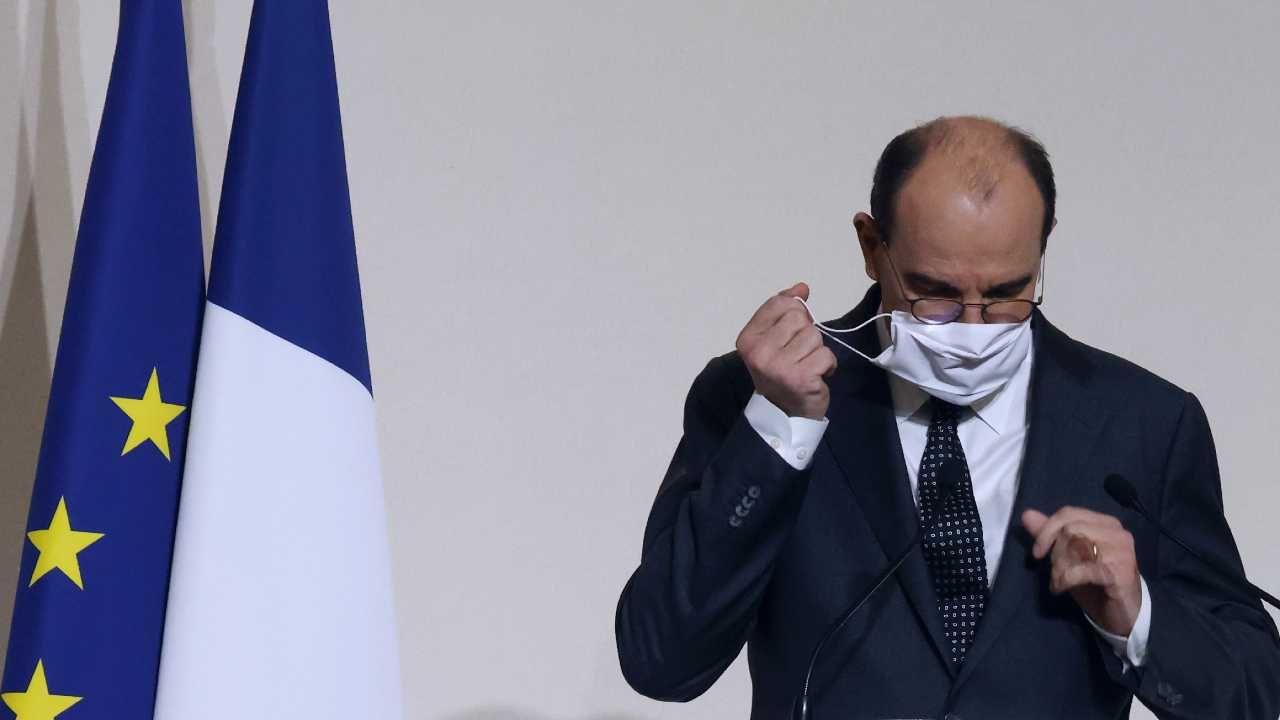 Premier Francji Jean Castex (fot. PAP/EPA/LUDOVIC MARIN / POOL)