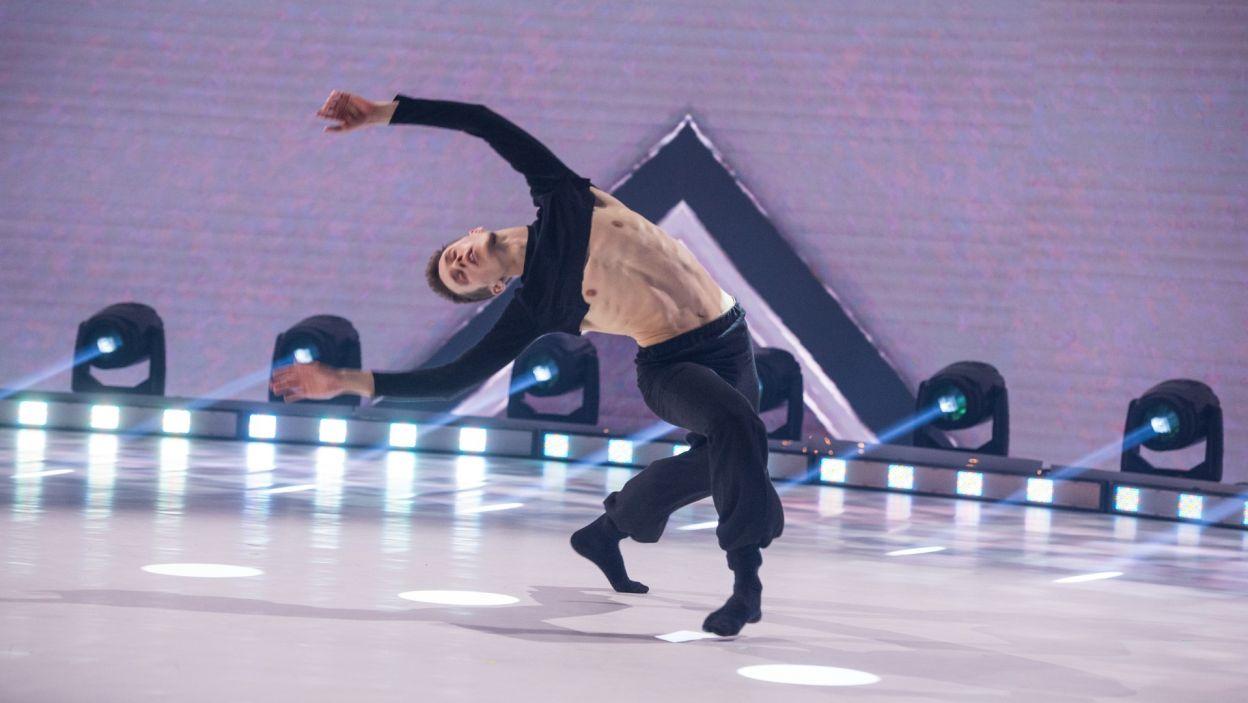 Artem Rybalchenko zaprezentował w finale swoją własną choreografię (fot. Jan Bogacz)