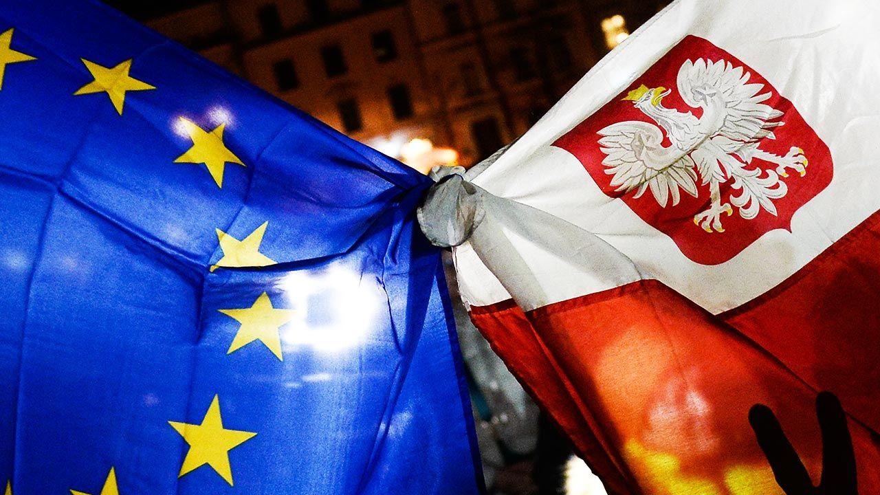Każdy spór, każdą niezgodę na pomysły unijnych biurokratów opozycja przedstawia jako polexit (fot. Omar Marques/Getty Images)