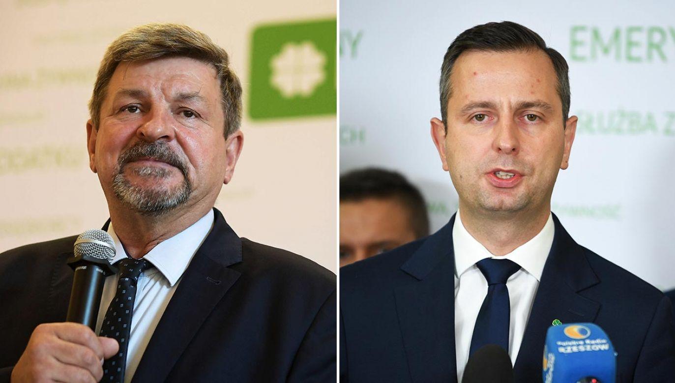 Jarosław Kalinowski, Władysław Kosiniak-Kamysz (fot. PAP/Marcin Obara, Darek Delmanowicz)