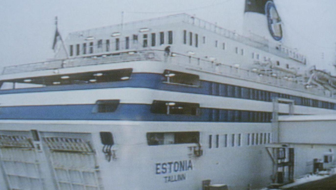 Statek zatonął w pobliżu fińskiej wyspy Uto w nocy z 27 na 28 września 1994 roku (fot. Pierre Vauthey/Sygma/Sygma via Getty Images)