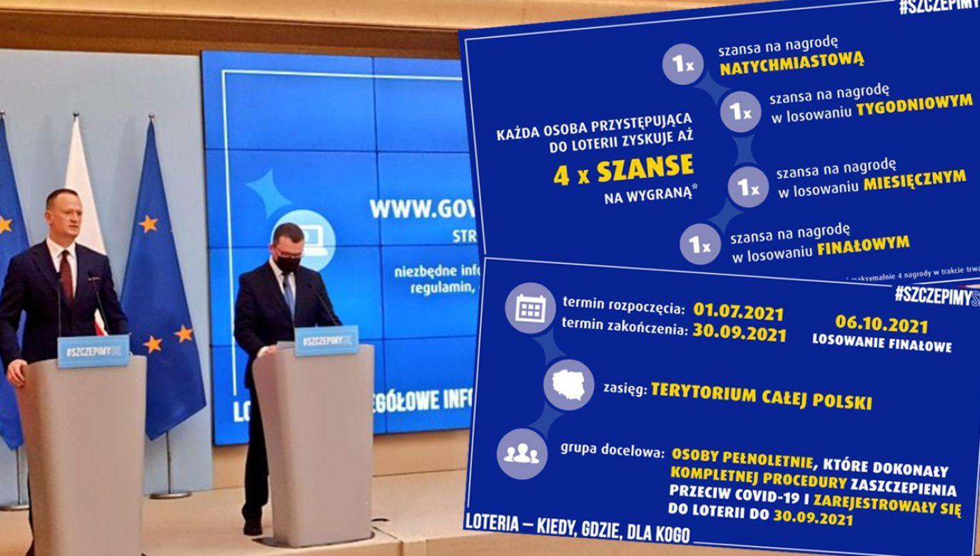 W loterii będzie można wygrać nagrody pieniężne oraz samochody i hulajnogi elektryczne (fot.TT/Totalizator Sportowy)