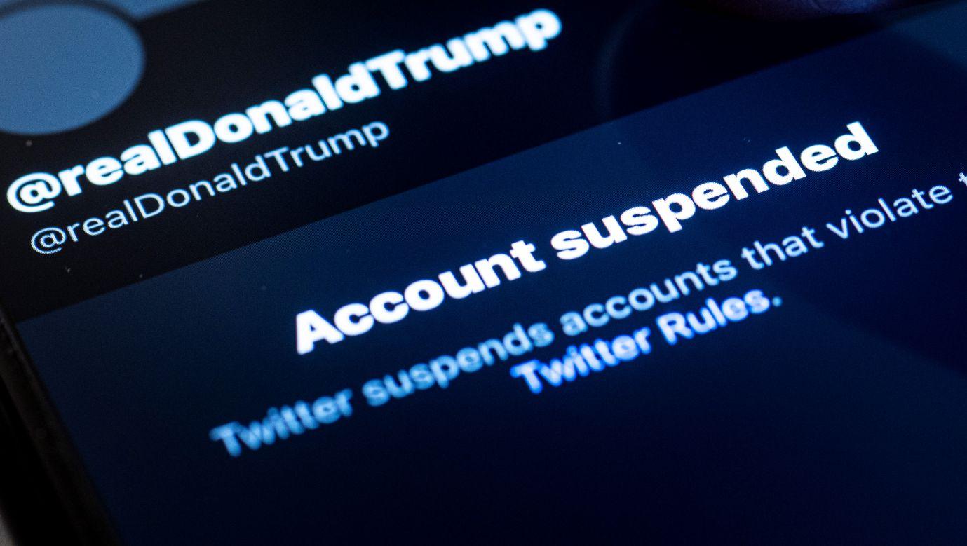 Donald Trump wygnany z cyfrowego świata. Fot. Florian Gaertner/Photothek via Getty Images