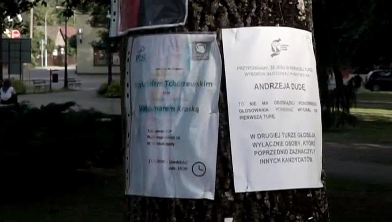 Druga tura wyborów na prezydenta Polski odbędzie się w niedzielę 12 lipca (fot. TVP info)