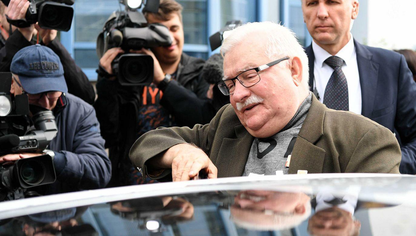 """Im bardziej umoczony jest Lech Wałęsa, tym bardziej jest użyteczny dla """"Wyborczej"""" – ocenia publicysta Dawid Wildstein (fot. arch.PAP/Adam Warżawa)"""