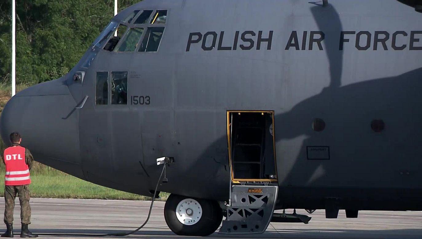 Pomoc dla Libańczyków płynie z całego świata, także z Polski (fot. TVP)
