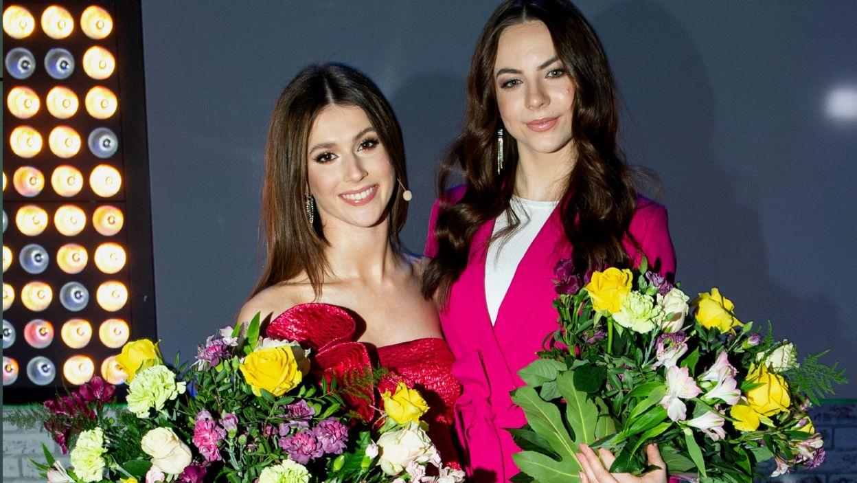 Nie obyło się bez pięknych bukietów kwiatów, które otrzymały zwycięskie dziewczyny! (fot. TVP/Natasza Młudzik)